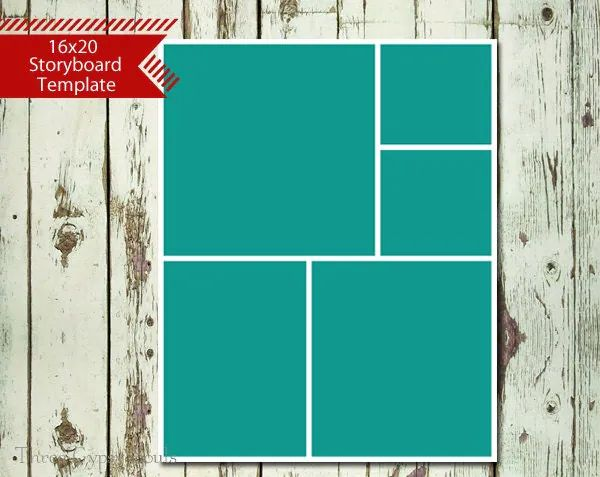 16x20 collage template free