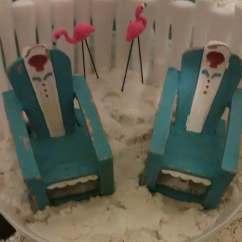 Adirondack Chair Photo Frame Favors Aaron Pottery Barn Miniature Flamingos Beach Garden Terrarium Chairs