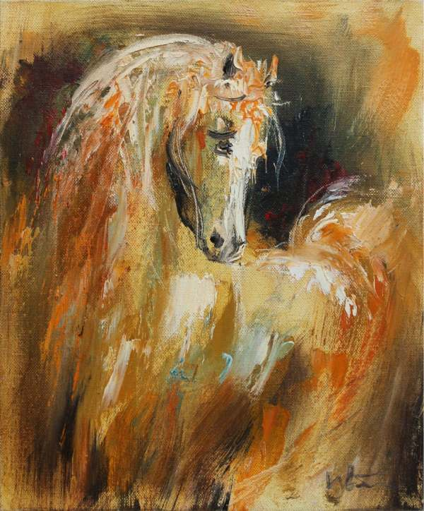 Horse Wall Art Giclee Canvas Oil Painting Print Animal