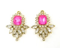 Hot Pink Chandelier Earrings | www.pixshark.com - Images ...