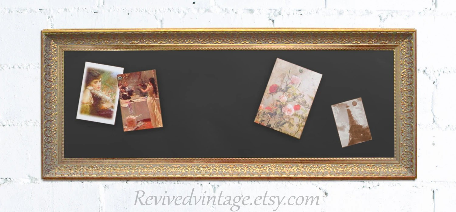 Kitchen Bulletin Board For Sale 42x17 Narrow By Revivedvintage