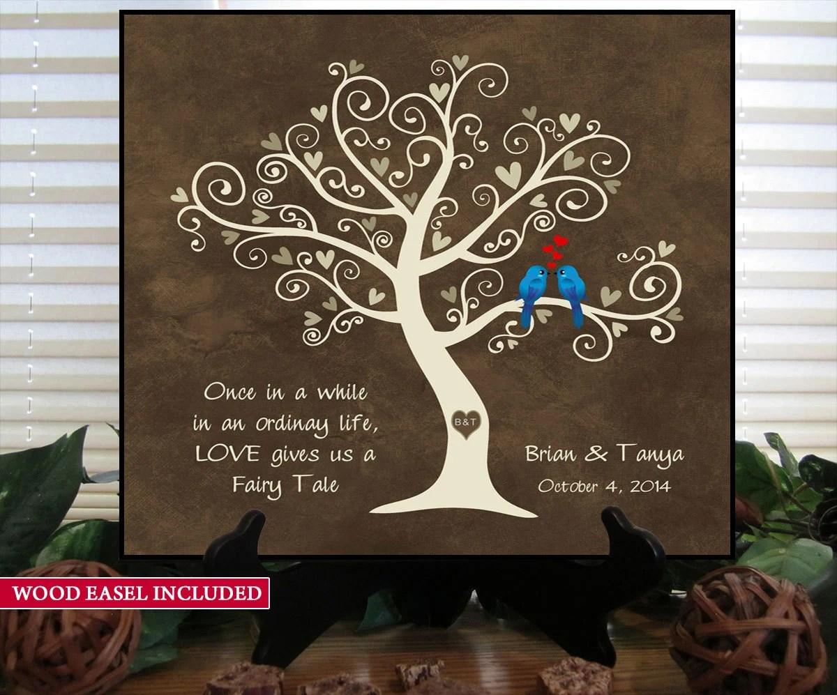 Unique Wedding Gift Idea Bridal Shower Gift Personalized