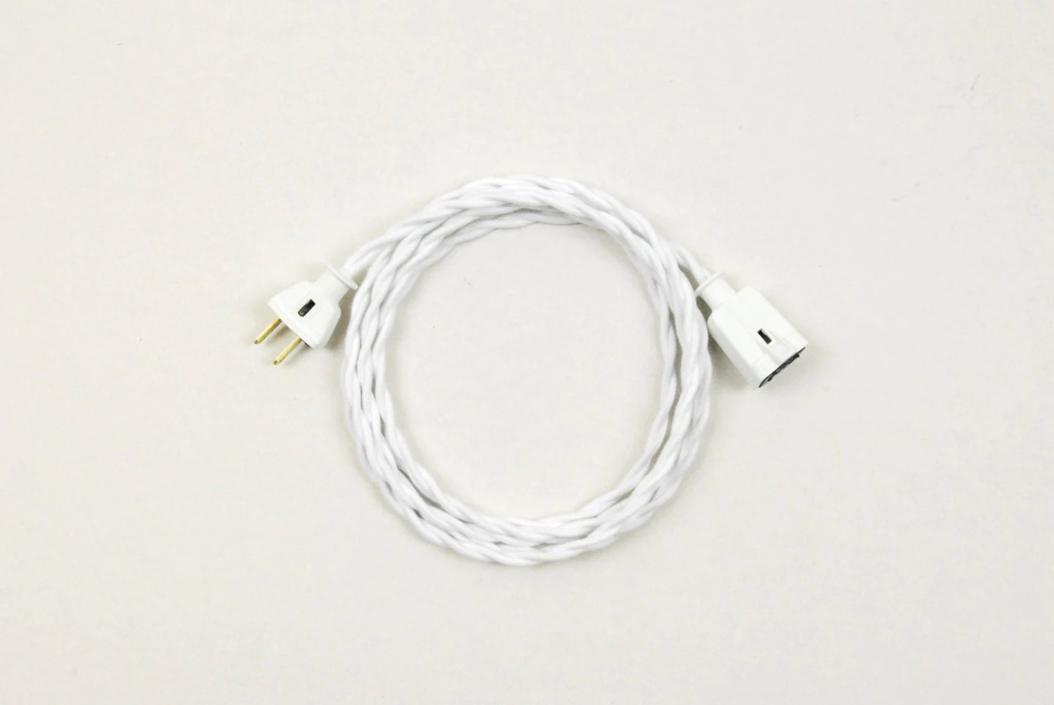 Cloth Covered Extension Cord Twisted Cotton