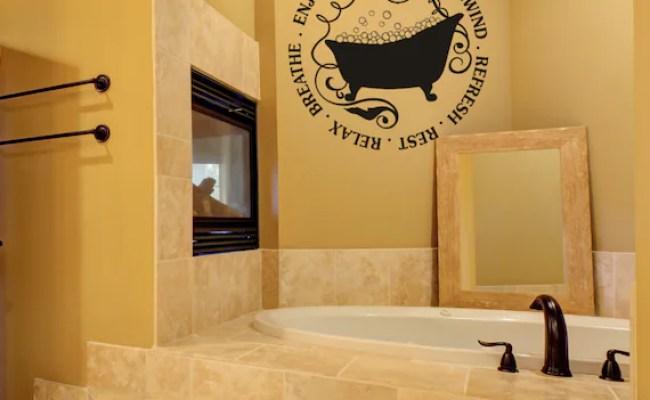 Unique Home Decor Bathroom Decal Home By Amandasdesigndecals