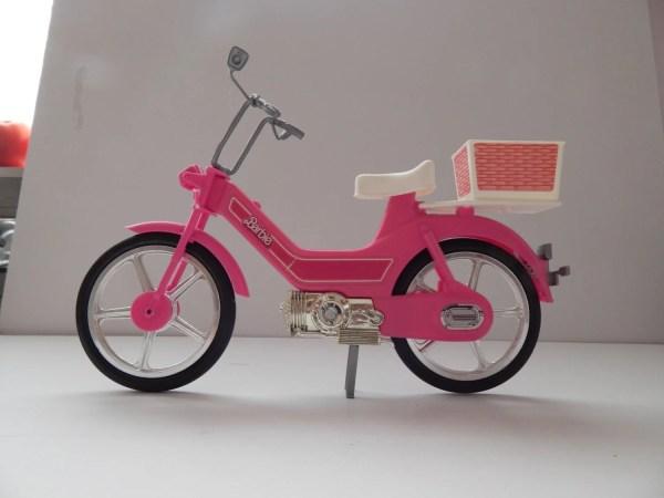 Barbie' Motor Bike 1984 4856 Mattel Classictoysanddolls