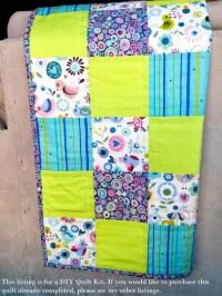 DIY Modern Baby Quilt Kit