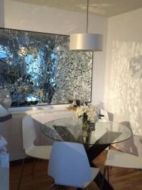 Hand made broken mirror wall art by AisteCreations on Etsy