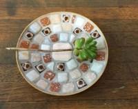 Mosaic tile bowl | Etsy