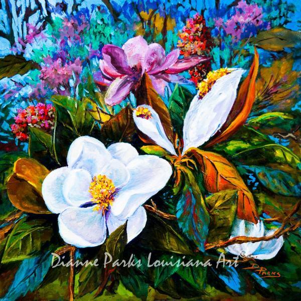 Magnolia Blooms Grandiflora Louisiana State Flower