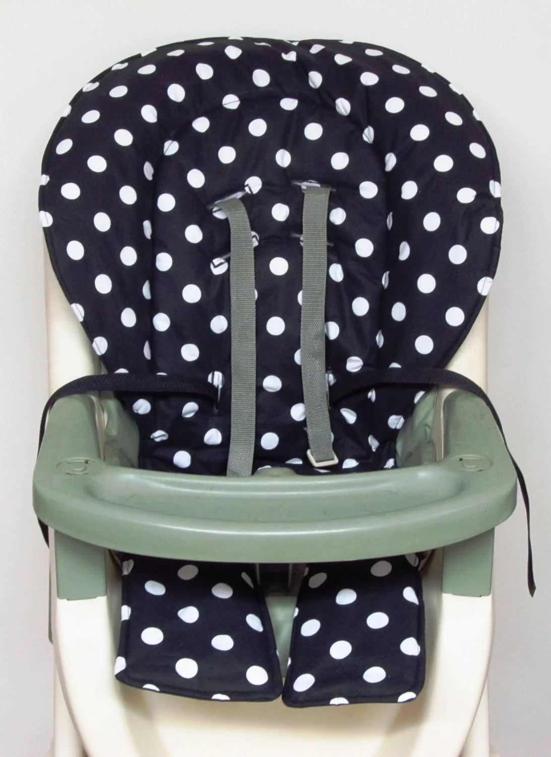 high chair pad graco on wheels replacement coverblack with large by