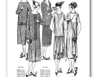 Popular items for Flapper fashion on Etsy
