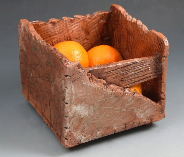 Terracotta Fruit Basket Handmade Clay Box Handmade