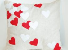 Valentines Day Heart Pillow Covers | Valentine's Day Wikii