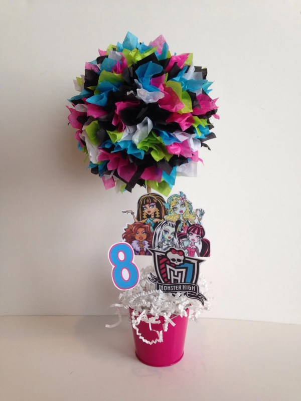 Monster High Birthday Party Decoration Centerpiece