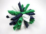 green blue and white korker hair