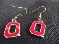 Ohio State Earrings Ohio State Buckeyes Free Shipping