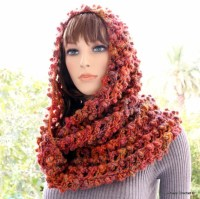 Crochet Scarf PATTERN-Infinity Scarf-Circle Scarf-Fall