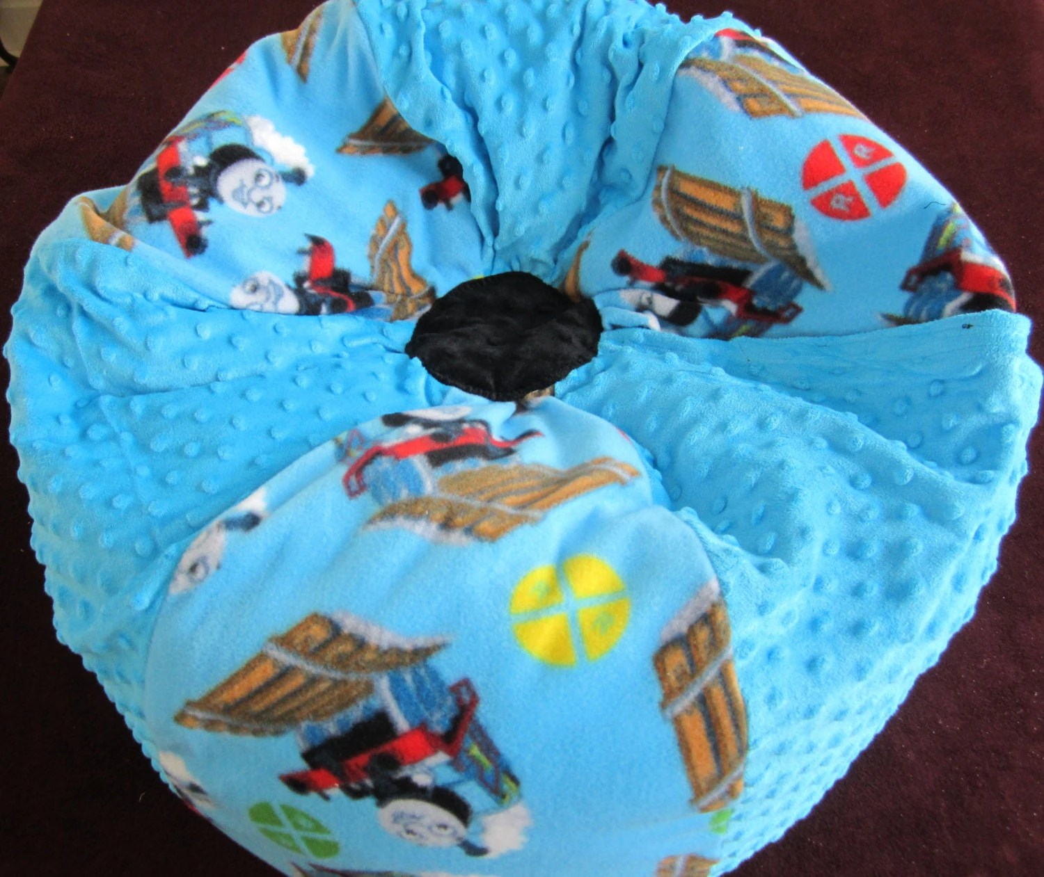 thomas train chair how to tie a sash knot the bean bag add name stuffed toy