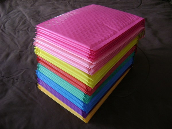 6x9 Color Bubble Mailer Seal Adhesive Envelope Padded