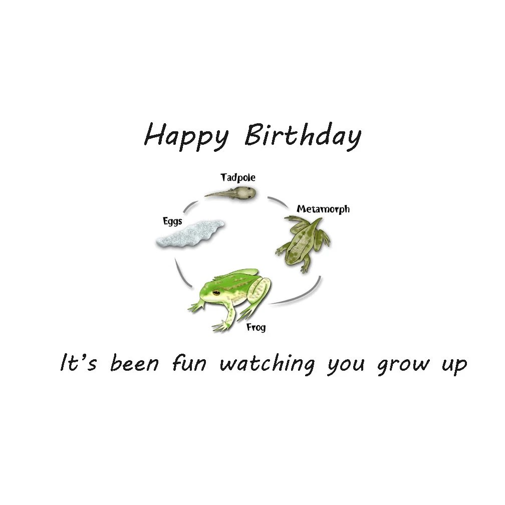 Happy Birthday Son Science Inspired Cards Biology By
