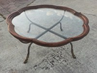 Vintage Mid Century Modern Drexel Round Coffee Table by ...
