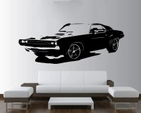 Large Car Dodge Challenger Muscle Wall Art Decal Mural Sticker