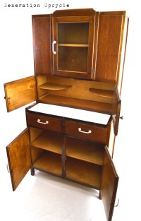 Hoosier Cabinet Small 1920s Vintage Hoosier Style Kitchen ...