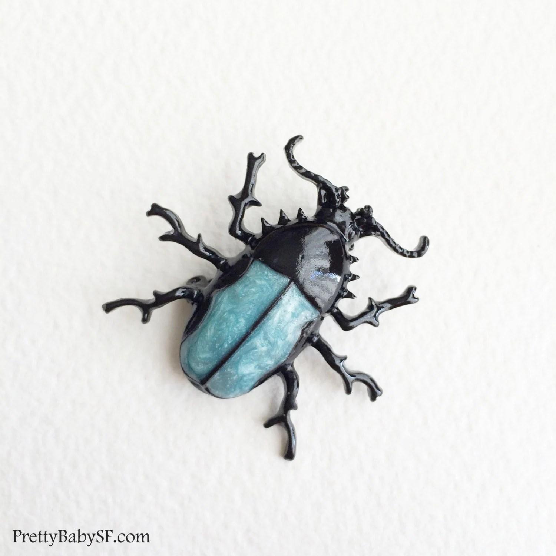 Beetle Broochinsect Jewelry Scarab Beetle Mens Brooch