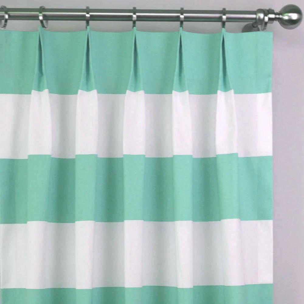 Mint Curtain Etsy