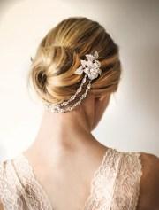 bridal hair chain wedding