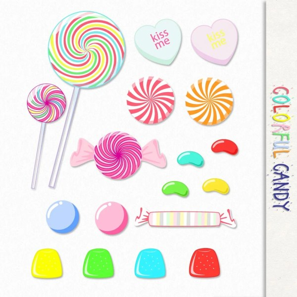 candy graphics clip art clipart