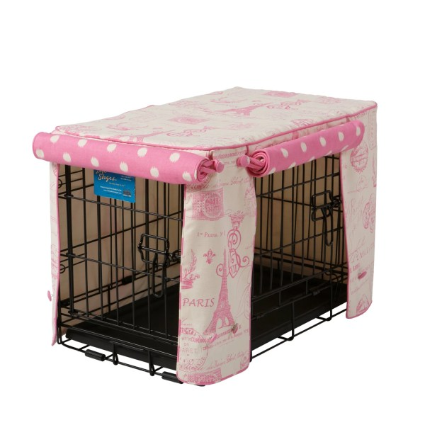 Parisian Pink Stagecoach Crate Cover