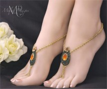 Indian Barefoot Wedding Sandals