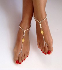 Barefoot Wedding Sandals Women