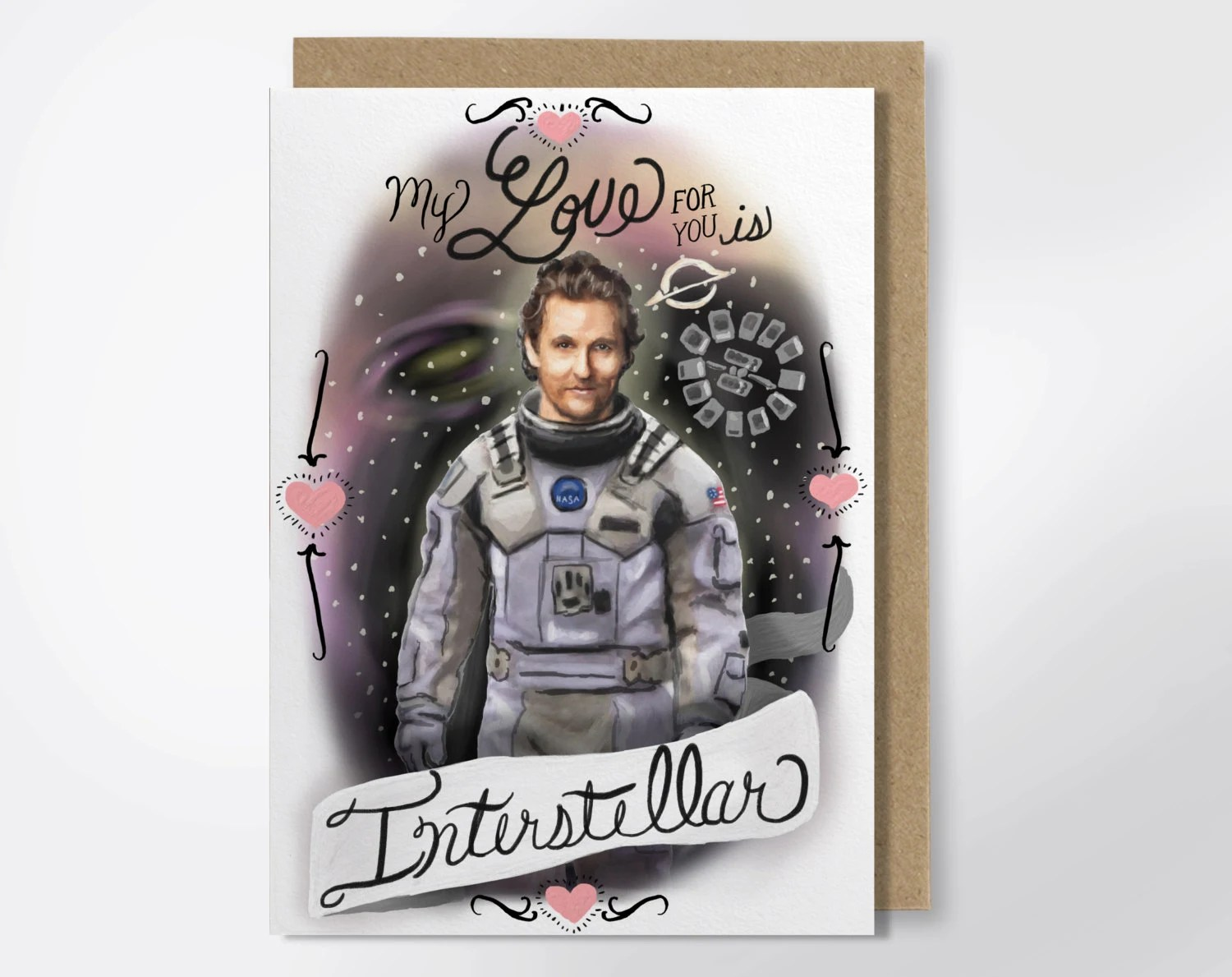 My Love For You Is Interstellar Matthew McConaughey