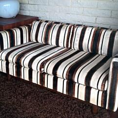 Modern Retro Sofa And Loveseat Narrowboat Corner Bed 1970s Vintage Milo Baughman Mid Century