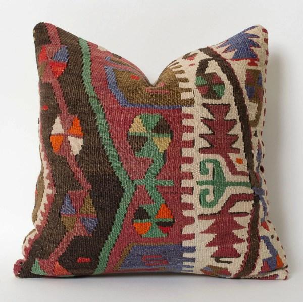 Kilim Pillowcase Throw Pillow Turkish