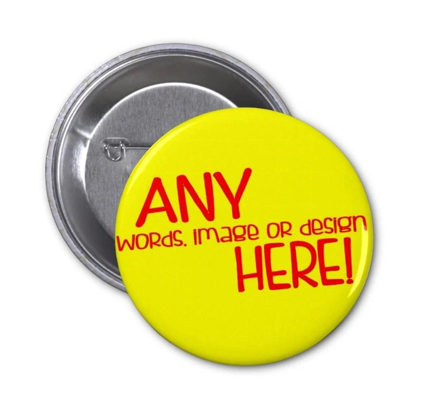 Design Pinback Buttons Online
