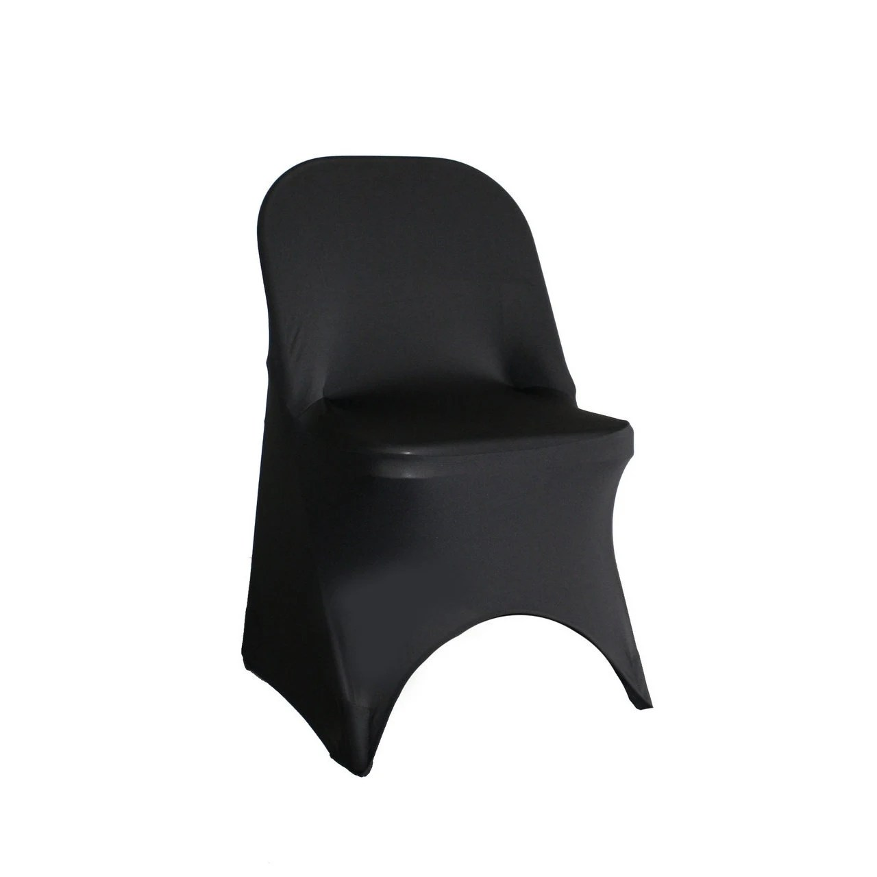 stretch chair covers office with built in footrest spandex folding cover black