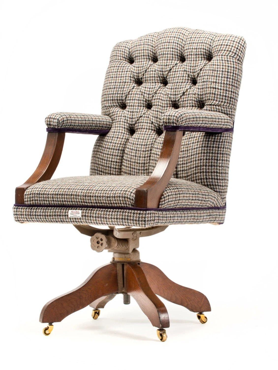 Tweed Chair Funky Retro Harris Tweed Upholstered 70 39s By
