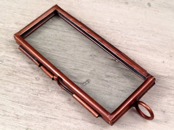 Double Sided Glass Floating Frame