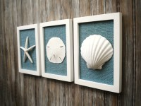 Cottage Chic Set of Beach Decor Wall Art Nautical Decor