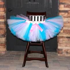 High Chair Tutu Swing Hayneedle Any Color Decoration First