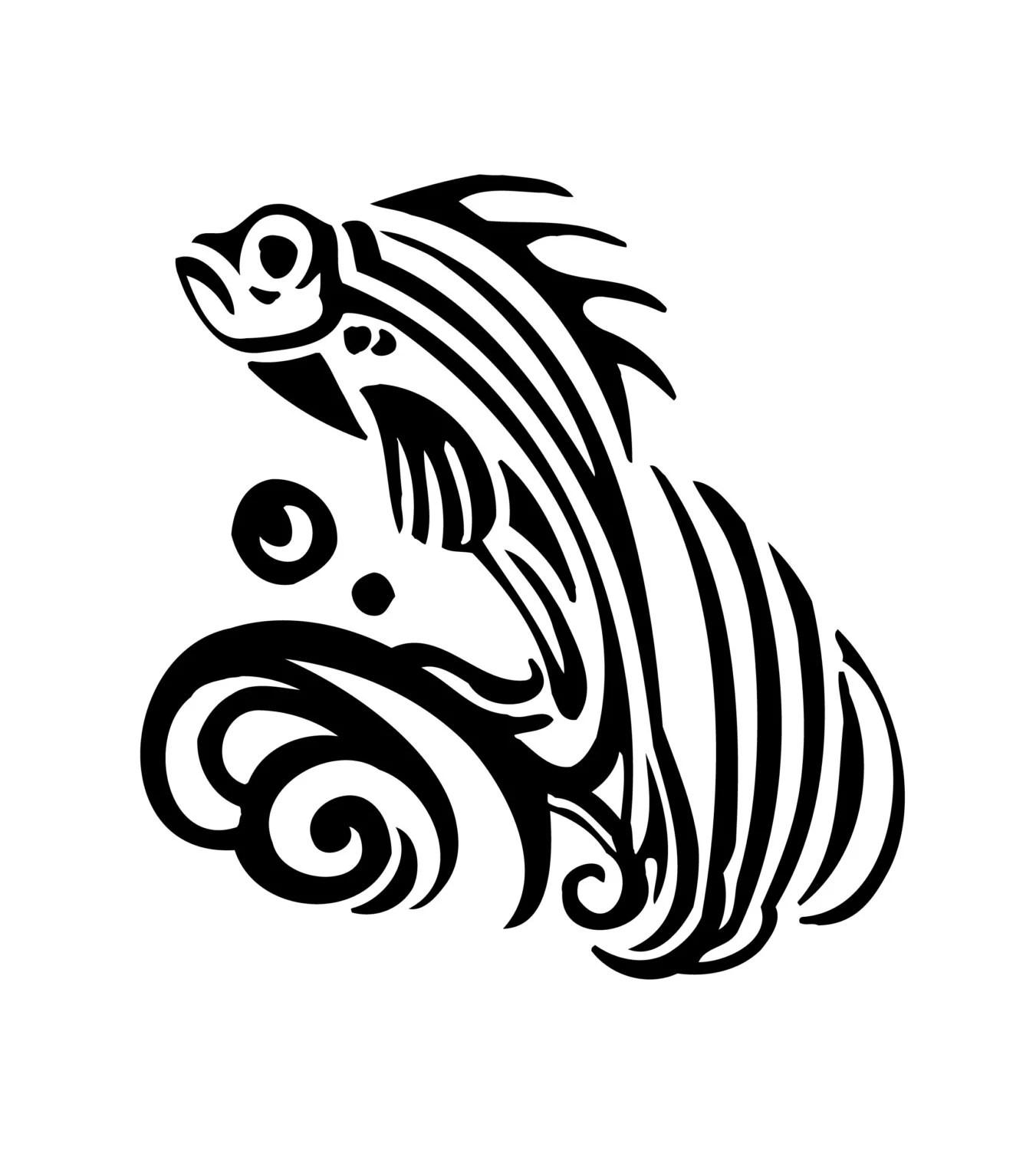 Popular items for fish vinyl decal on Etsy