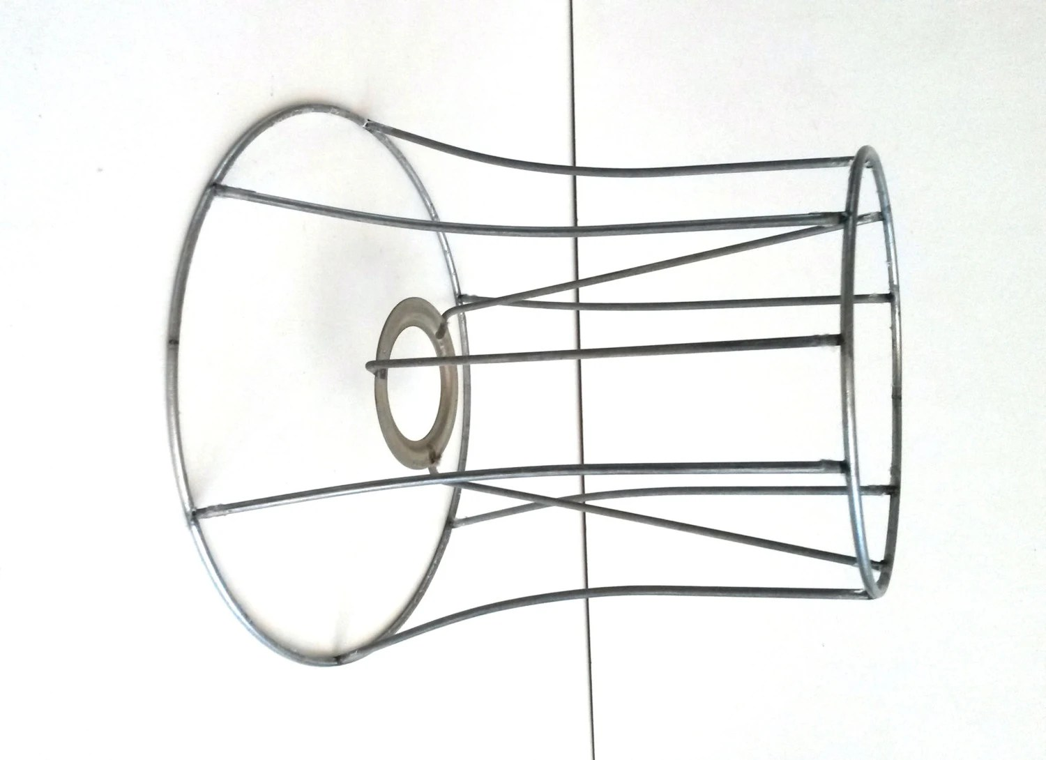 Authentic vintage / antique lampshade wire frame. / lamp shade