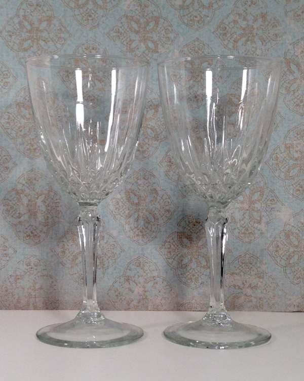 Luminarc Crystal Stemware 6 Wine Glasses 2 Southernpearlz