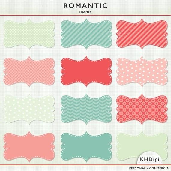 label frames 'romantic clip