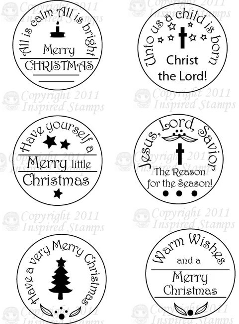 Inspired Stamps... 4x6 stampset: 1.5