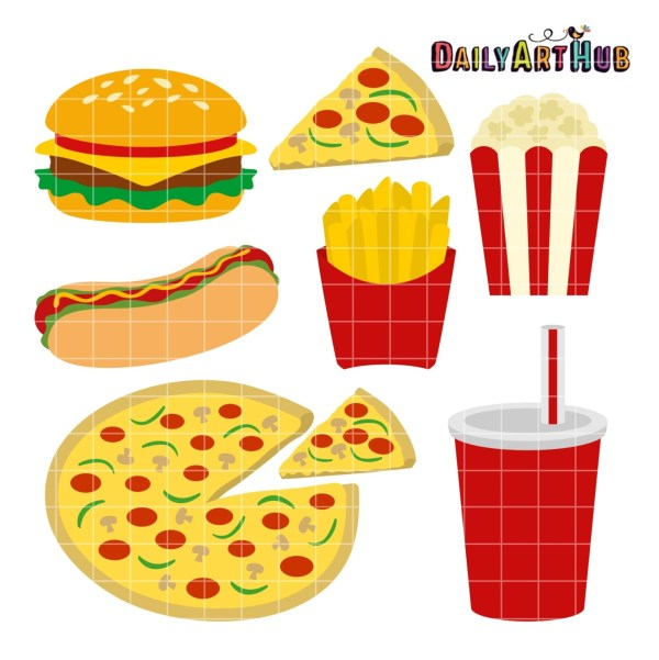 fast food clip art - clipart