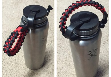 How To Make Paracord Handle For Hydro Flask
